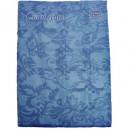 Скатерть бумажная Vitto Prestige 120*180 см синяя с полимер.покр.