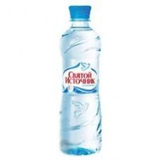 Вода негазированная Святой Источник 0,5л негаз.12шт/уп