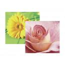 Салфетки Fasana (Роза)33х33см, 3-х слойные, 20 штук в упаков