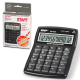 Калькулятор STAFF STF-3012, 12 разрядов, двойное питание, компьютерные клавиши