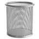 Подставка для канцел.мелочей металлическая, круглое основани