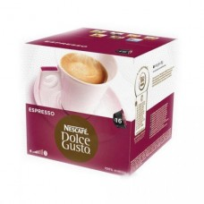 Капсулы для кофемашин NESCAFE DOLCE GUSTO Эспрессо 16x200г