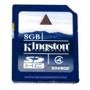 Карта памяти Kingston SDHC 8GB SD4Class 4