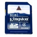 Карта памяти Kingston SDHC 8GB SD4Class 4