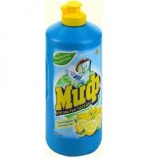 Средство для посуды  Миф  0,5л лимон