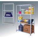 Стеллаж металлический усиленный СТФУ200 - 4 полки (2000*500*1000)