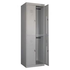 Шкаф для одежды ШРК-24-800 металлический (800х490х1860 мм)