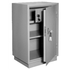 Шкаф КБ/КБС 011 Т  бухгалтерский металлический (670х420х360мм) с трейзером