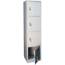 Шкаф КБ/КБС 06 бухгалтерский металлический  (1850*440*390мм)