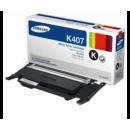 Картридж Samsung CLT-К407S черный. для CLP-320/325/CLX-3185