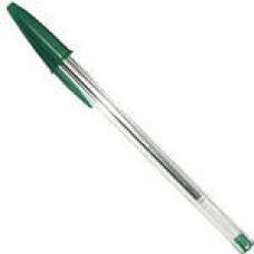 Ручка шариковая Bic Cristal зелёный