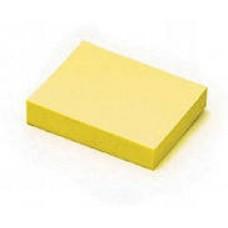 Блок бумажный с липким слоем  38*50 желтый