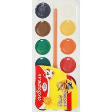 Краски акварельные 12цв  Гамма