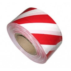 Лента сигальная красно-белая 250м*75мм