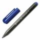 Маркер перманент Centropen синий 1мм