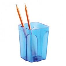 Подставка для ручек  Attache City, прозрачно синего цвета