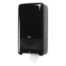 Диспенсер для туалетной бумаги Tork Т6 в миди-рул. 557508 черный