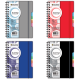 Бизнес-тетрадь А-5 120 листов, BRAUBERG IN Style  в линию,обложка.пластик,на спирали (4вида),