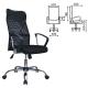 Кресло офисное Flash MG-302, сетка, хром)