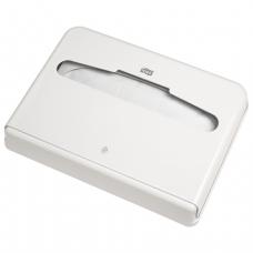 Диспенсер для покрытий на унитаз Tork (белый, пластиковый)