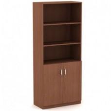 Шкаф для документов полузакрытый Лайт 1830*350*700 ЛТ Ш-02/ДШК-02