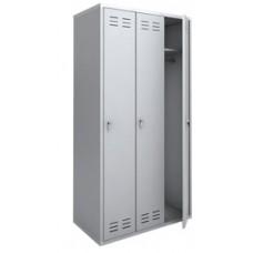 Шкаф для одежды металлический ШРС-11-900, (1850х900х500 мм) 3-секции (ШМС391)