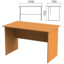 Стол письменный Лайт прямоугольный 1200*700*750,  ЛТС 7-12