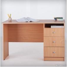 Стол письменный однотумбовый Лайт 1600*г600*в750 мм), правый (ЛТ СО 6-16R)