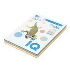Бумага цветная IQ COLOR (А4,80г,5цв.)250л/пач