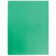 Папка с 10 вкладышами Attache/Braub. 0,45мм. зеленая