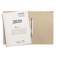 Папка-скоросшиватель картонный немелованный