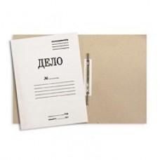 Папка-скоросшиватель картонный мелованный картон