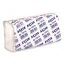 Полотенце бумажное Aster Pro 131281 C (белые, 2-слойные, 153 листа в упаковке)