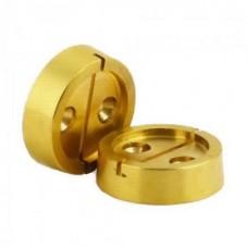 Плашка металл. на 1 печать, диаметр 29 мм, 2шт/уп, лат