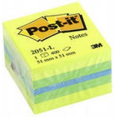Блок самокл. 3М 51*51 400 л Post-it  Лимон 400л