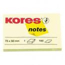 Блок бумажный для записей  Kores  75*50
