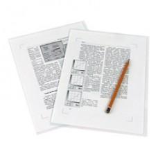 Папка-уголок жесткая пластик Е-310 позрачная.,плотность 180мкр