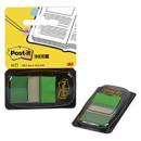 Закладки зеленые 3М Post-it (50 шт)