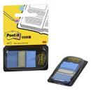 Закладки ярко-синие  3М Post-it (50 шт)