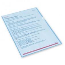 Папка-уголок А-4 синяя