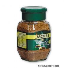 Кофе Jacobs Monarch  раств.субл.190г стекло
