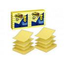 Блок самокл 3М 76x76 мм Z-сложения желтые пастельные 6 блоков по 100 листов