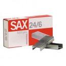 Скобы для степлера 24/6 SAX