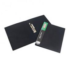 Папка с прижимом Attache 0,5мм, черная