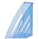 Вертикальный накопитель 90мм Attache City,прозрачно/синий