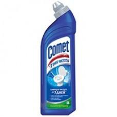 Чистящее средсво  для сантехники COMET 750мл гель для туалета