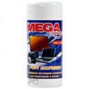 Салфетки для чистки экранов MEGA Office for screen в тубе 100шт