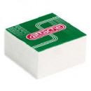 Блок бумажный  9*9*5 склейка белый