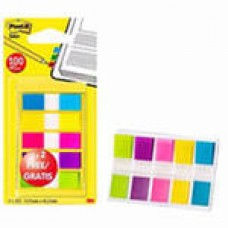 Закладки пластиковые 5цв.по 20л.неон Post-it '683-5C (набор)