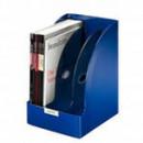 Вертикальный накопитель Leitz Plus Jumbo 3-отделения, синий